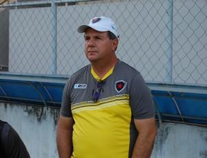 Marcelo Vilar, técnico do Botafogo-PB (Foto: Lucas Barros / Globoesporte.com/pb)