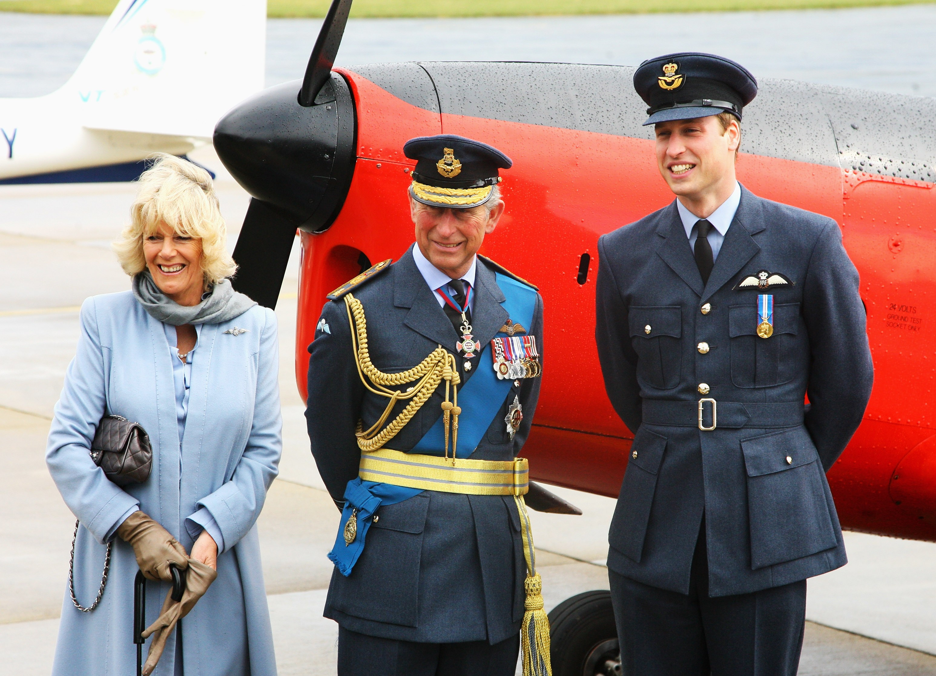 Camilla, Duquesa de Cornwall, Príncipe Charles e Príncipe William  (Foto: Getty Images)