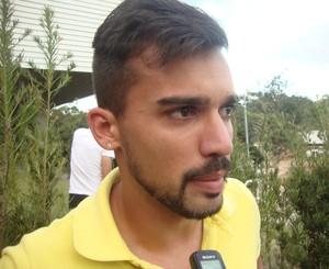 Danilo NAC Nacional de Muriaé (Foto: Bruno Ribeiro)
