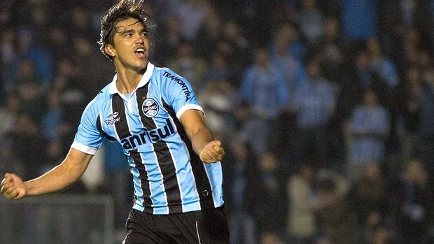 Marcelo Moreno, Grêmio x Sport (Foto: Alexandro Auler / Agência Estado)