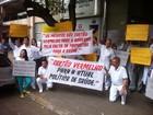 Médicos do Leste de Minas fazem manifestação nesta quarta-feira