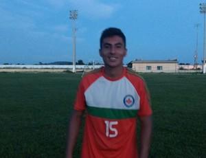 Rodrigo Rocha, lateral do independente (Foto: Arquivo Pessoal)