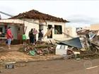 Meteorologistas confirmam que dois tornados atingiram a região oeste de SC
