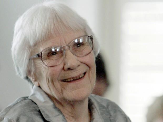 Harper Lee em foto de 2007 (Foto: AP Photo/Rob Carr, File)