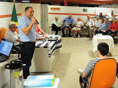 Téo Feola Rio Branco Tigre (Foto: Flávio Oliveira / Rio Branco)