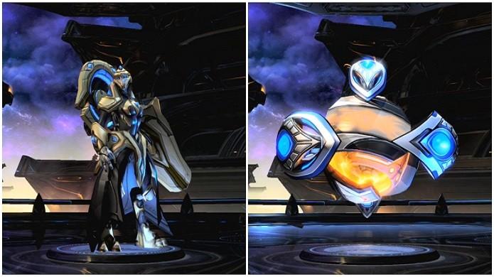 O Adepto e o Disruptor são as novas unidades da raça Protoss (Foto: Divulgação/Blizzard)