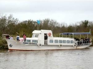 Barco Arroio Pelotas (Foto: Eduardo Beleske/Prefeitura de Pelotas)