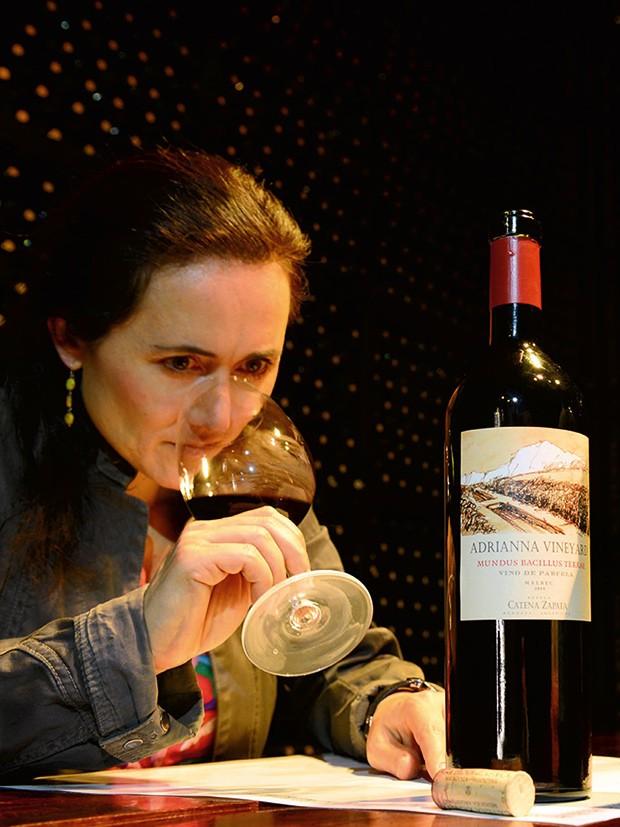 Empresa;Ciência;Vinho;Laura Catena (Foto: Horacio Paone/The New York Times/Fotoarena)