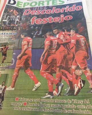Grêmio Libertadores Toluca jornal Grêmio  (Foto: Eduardo Moura/GloboEsporte.com)