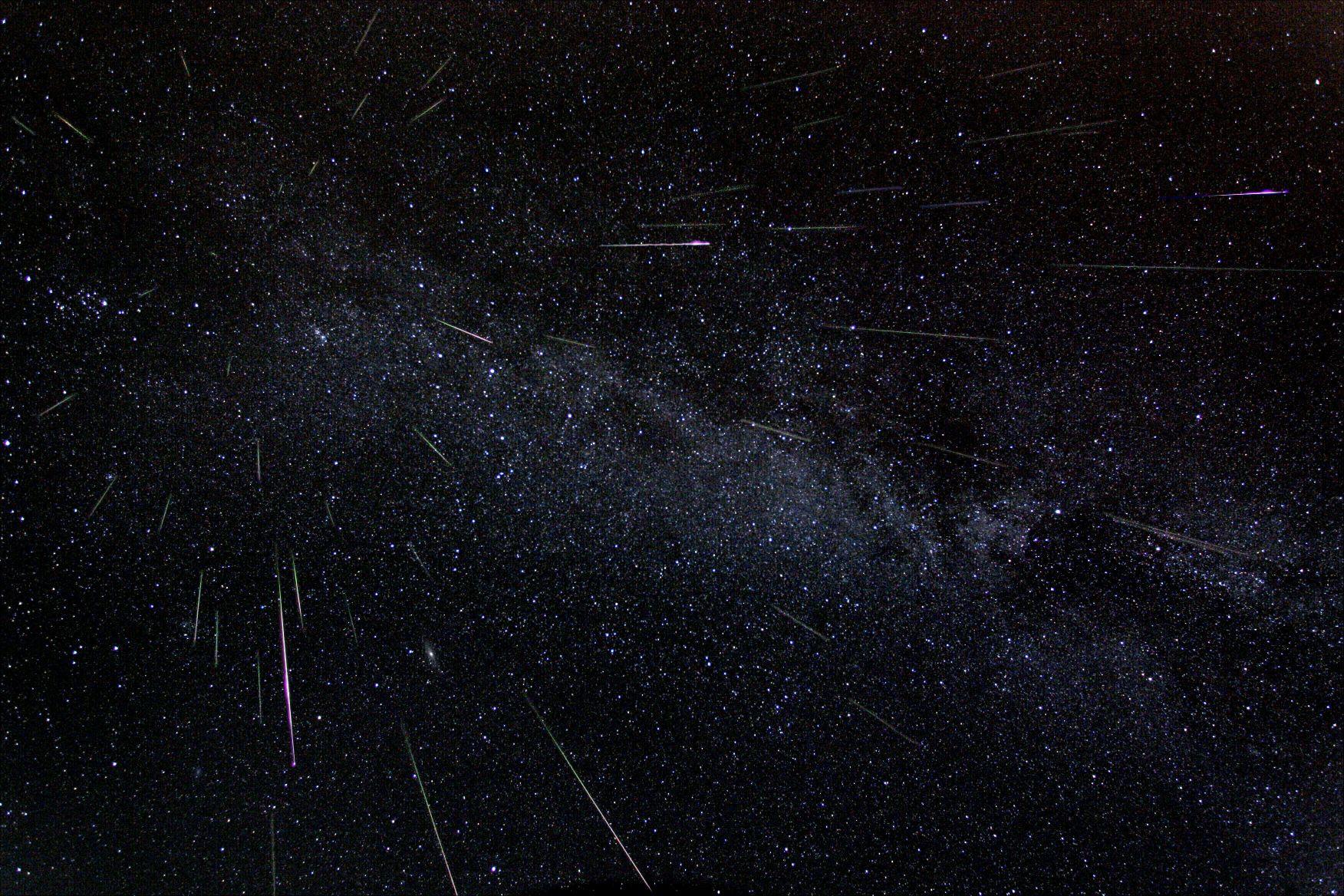 Chuva de meteoros Perseidas de agosto deste ano (Foto: nasamarshall | flickr | creative commons)