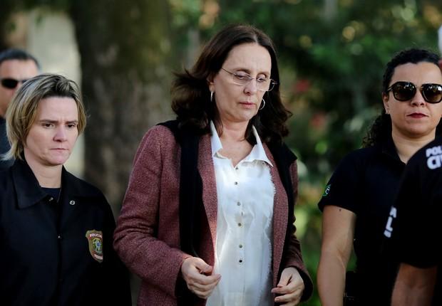 Andrea Neves, irmã do senado Aécio Neves (Foto: Cristiane Mattos/Reuters)