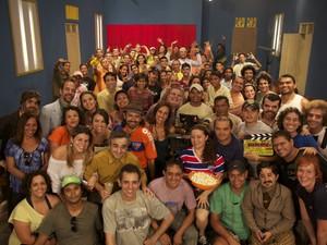 Elenco e equipe do filme (Foto: Divulgação)
