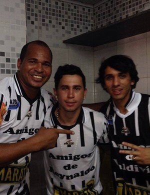 Aloísio Chulapa, Reynaldo e Valdívia (Foto: Reprodução Instagran)