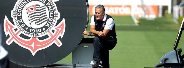 Tite no treino do Corinthians (Foto: Daniel Augusto Jr. / Ag. Corinthians)