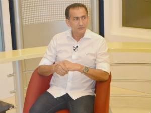 Entrevista do candidato Waldez ao G1 Amapá  (Foto: John Pacheco/G1)