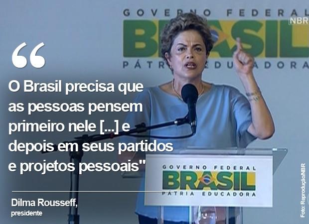 Frase Dilma Maranhão 2 VA (Foto: Arte/G1)
