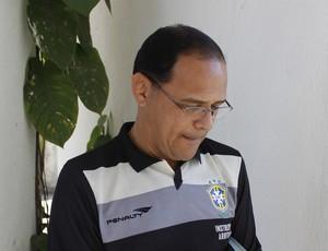 Hércules Martins, presidente da arbitragem de Alagoas Ceaf-AL (Foto: Caio Lorena / GloboEsporte.com)