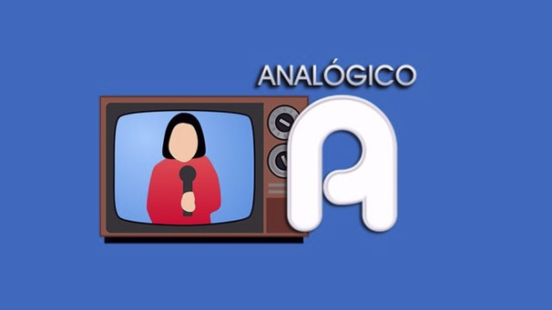 Sinal analógico é simbolizado pela letra A no canto direito da tela (Foto: Arte/ Rede Vanguarda)