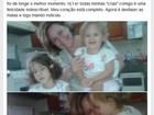 Coração completo, diz mãe de menina operada nos EUA após volta ao Brasil