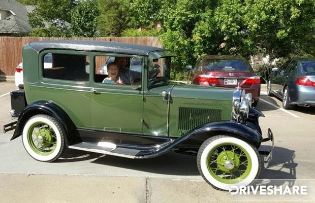 Ford A 1931 é alugado como a oportunidade de entrar em uma cápsula do tempo (Foto: Reprodução)