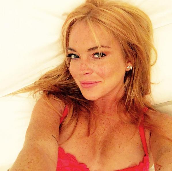 Lindsay Lohan  (Foto: Instagram/Reprodução)