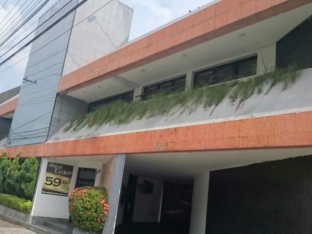 Crime aconteceu em quarto de motel de Santos (Foto: Guilherme Lucio/G1)