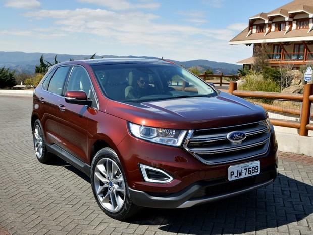 Novo Ford Edge  Foto Divulgacao