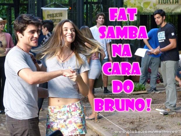 Tadinho do Bruno! Bolou de ciúmes :( (Foto: Malhação / Tv Globo)
