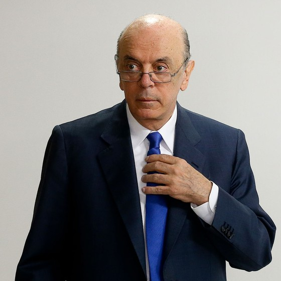 José Serra ex-ministro das Relações Exteriores (Foto:  Alan Marques/Folhapress)