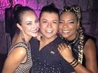 MC Ludmilla inova em penteado para ir à festa de Wolf Maya no Rio
