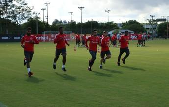 Sem Alisson e Andrigo, Inter inicia semana de decisão com treinos físicos