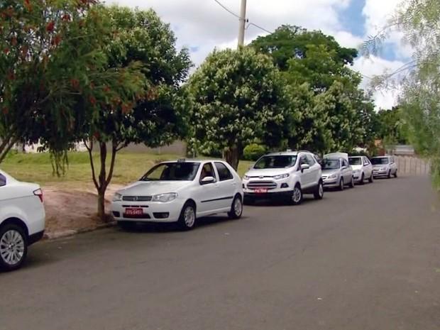 Projeto divide opiniões entre os taxistas da cidade (Foto: Reprodução EPTV)