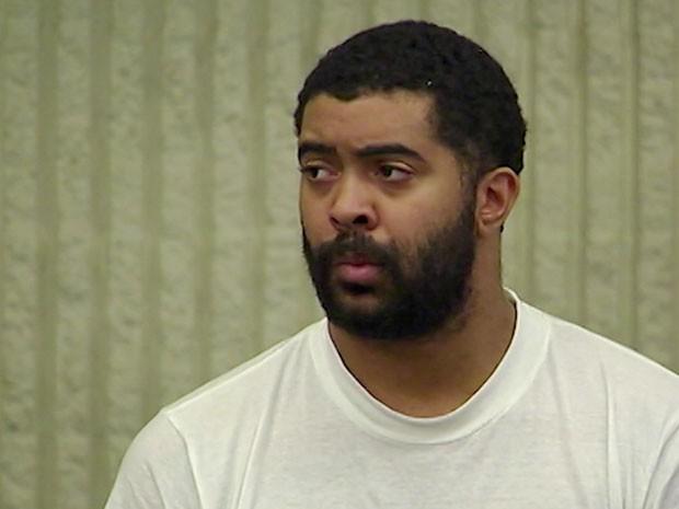 Jaquan Huston, suspeito de matar o brasileiro em restaurante (Foto: CNN Newsource)