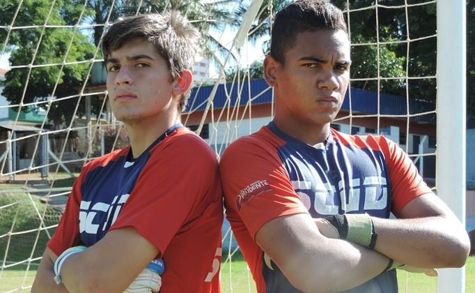 Figueiredo Bruno goleiros Grêmio Prudente sub-15 sub-17 (Foto: João Paulo Tilio / GloboEsporte.com)