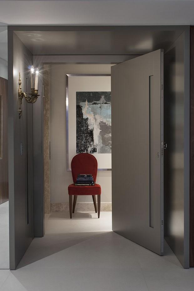 Apartamento homenageia estética dos anos 1960 (Foto: Sergio Vergara/Divulgação)