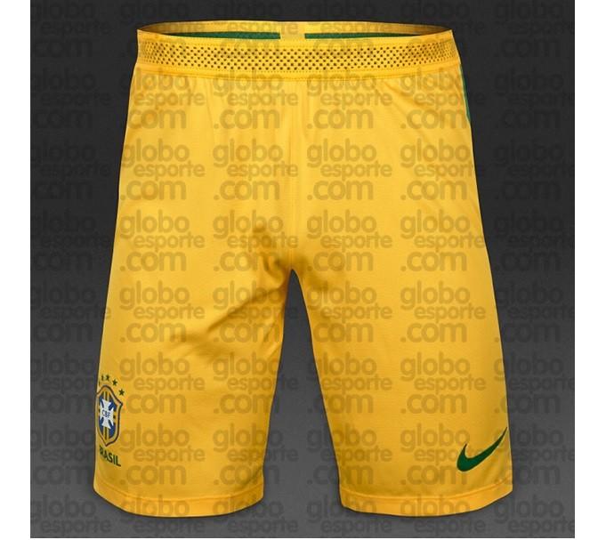 Mudança radical  Brasil poderá ter calção amarelo e aposentar o ... e3c7321af048d