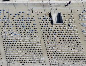cadeiras estádio maracanã  (Foto: Agência Reuters)