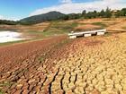 Falta de chuva em São Paulo deixa represas com aparência de deserto