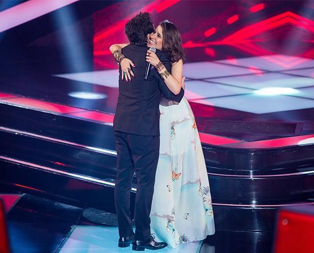 Carla Casarim e Daniel - Audição 1 (Foto: Isabella Pinheiro/TV Globo)