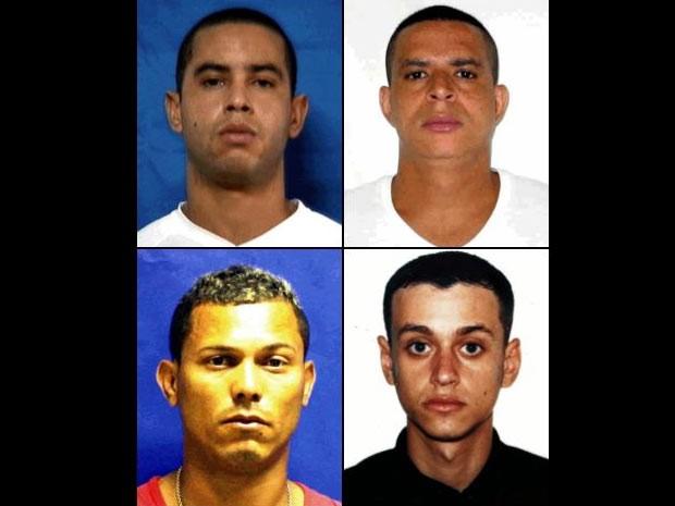 Procurados envolvidos na Chanina na Chatuba (Foto: Divulgação / Disque-Denúncia)