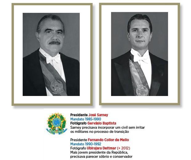 Sarney e Collor (Foto: Divulgação)