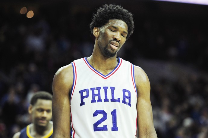 Joel Embiid philadelphia x indiana GettyImages 2 (Foto: getty)
