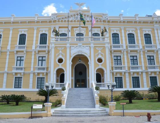Palácio Anchieta, sede de governo do Espírito Santo  (Foto: Secom/ES)
