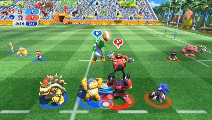 Mario and Sonic at the Rio 2016 Olympic Games chega ao Wii U (Foto: Divulgação/Nintendo)