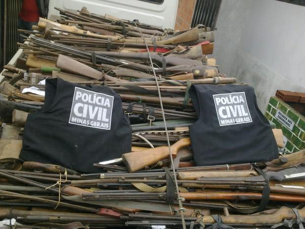 Armas Salinas. (Foto: Divulgação/ Polícia Civil)