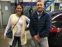 Ao lado do lutador irlandês, namorada de Conor McGregor mostra gravidez
