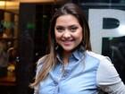 Polliana Aleixo revela que vai viajar com o namorado após o fim de 'Em Família'