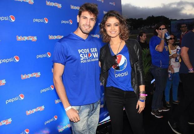 Sophie Charlotte e Guilherme Leão (Foto: Celso Tavares)