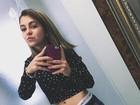 Klara Castanho posa de barriga de fora e ganha elogio: 'Linda'