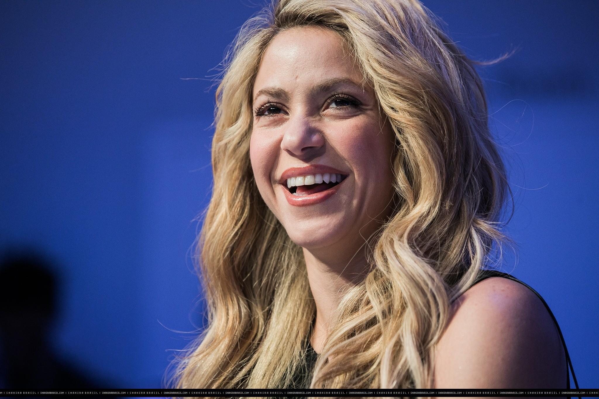 Shakira participa do Fórum Econômico Mundial  (Foto: Reprodução)